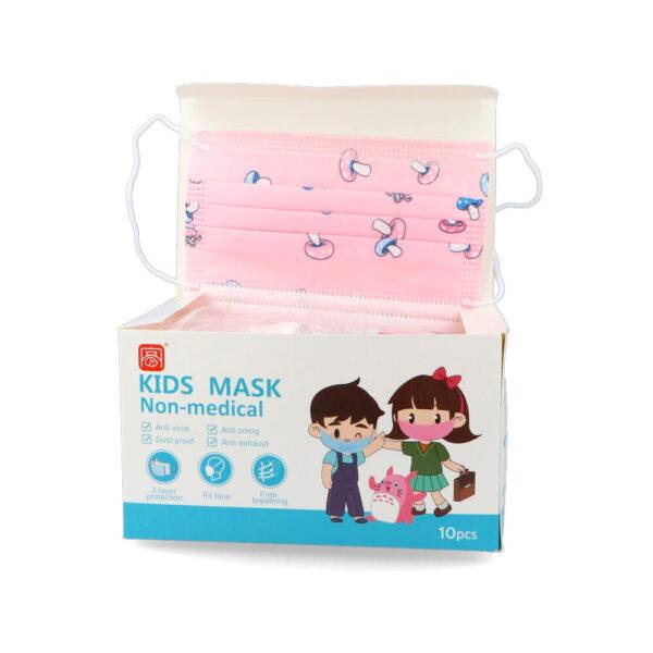 Mascarilla Infantil Quirúrgica Pack