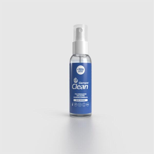 Siempre Clean Solución Hidroalcohólica Aroma Original Pulverizador 100 ml