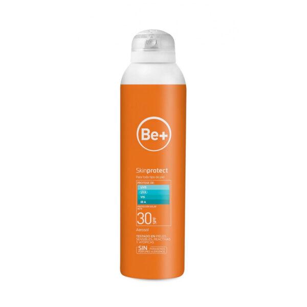 BE+ Skin Protect Fotoprotector Aerosol Transparente 30SPF
