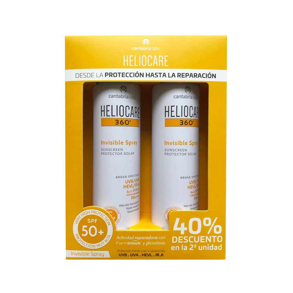 Heliocare Pack Invisible Spray Duplo