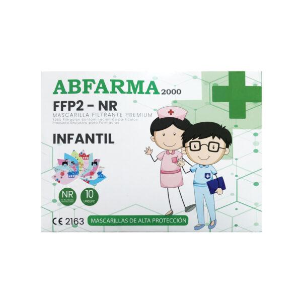 Mascarilla FFP2 Infantil Pack
