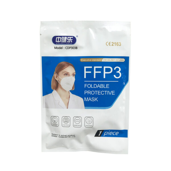 Mascarilla FFP3 Adulto Pack
